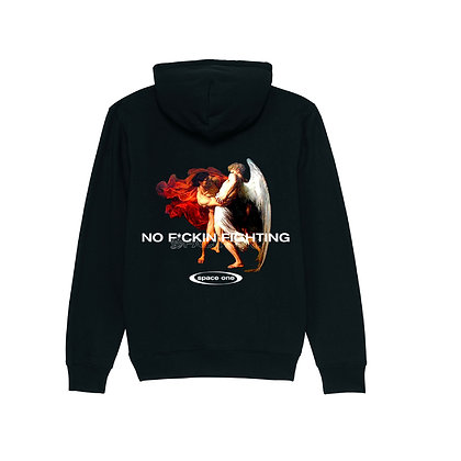 No F*ckin — Black Sweatshirt
