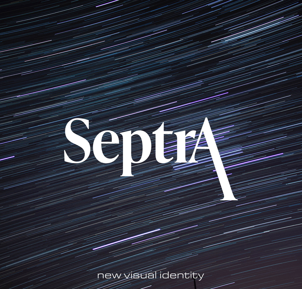 Septra basic logo by Space One Studio