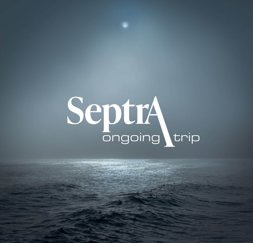 Septra trip logo by Space One Studio