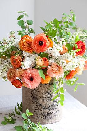 brighten the day bouquet