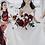 Thumbnail: bridesmaids bouquet in burgundy