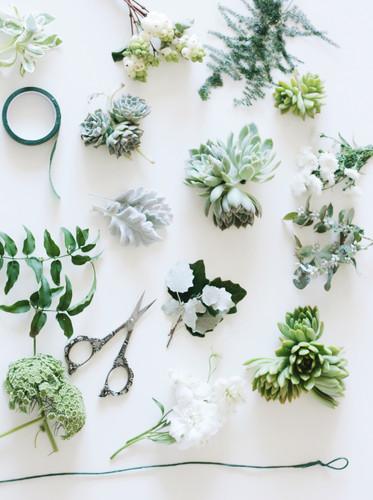 succulent flower crown