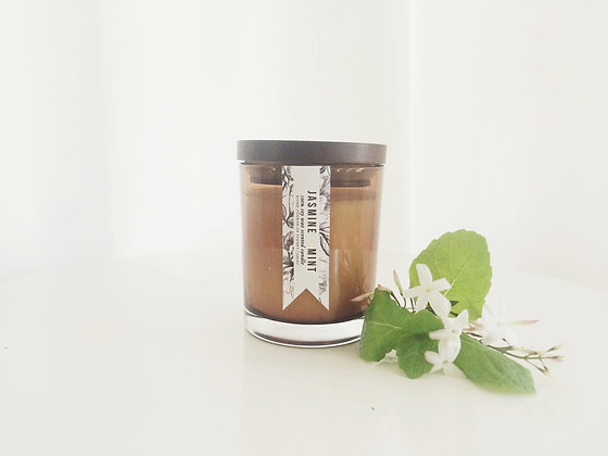 JASMINE & MINT SOY CANDLE