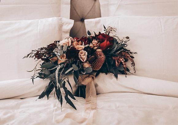 native bridal bouquet