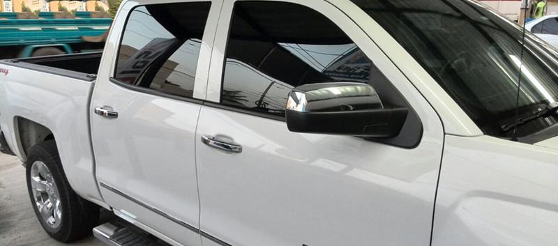 Laminado 3M Obsidian en Chevrolet Silverado