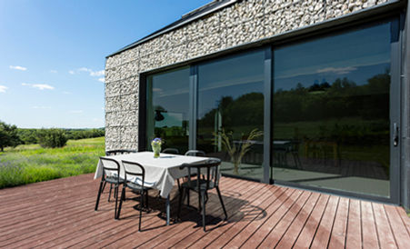 Performa Charcoal privacy window film