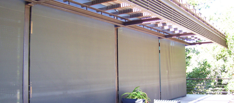 Cortinas perma de exterior en terraza