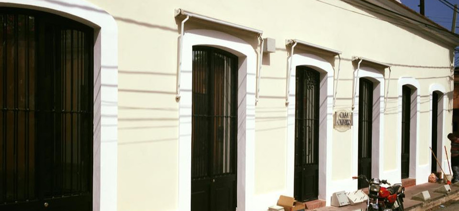 Laminado reflectivo instalado en la Zona Colonial, Santo Domingo