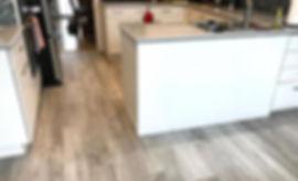 Pisos de vinil Coretec Plus en cocina