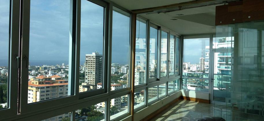 Laminado 3M Prestige en residencial privada La Esperilla