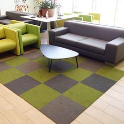 Instalación alfombra modular Made you Lo