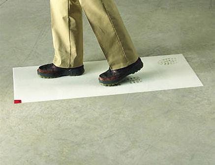 Alfombra Supermat Cleanstep white