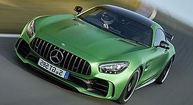 Mercedes GTR con laminado Autobahn