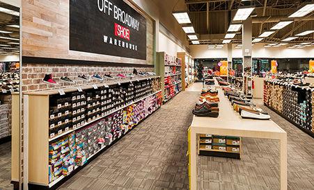 Alfombras Patcraft en tienda retail de zapatos