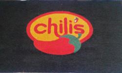 Alfombra 3M Nomad negro logo Chili's