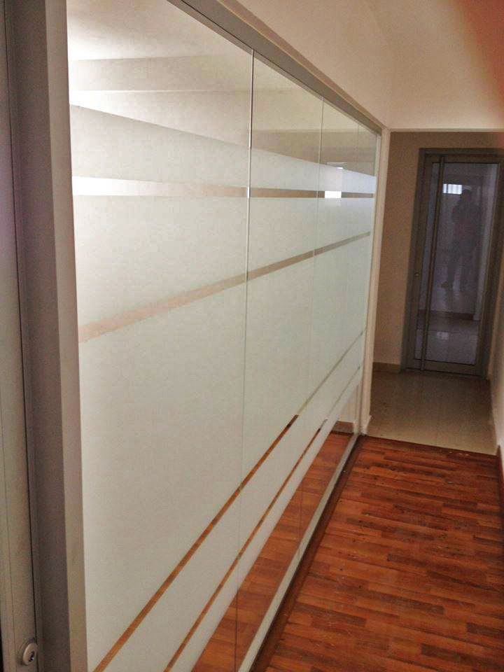 Laminado decorativo frosted