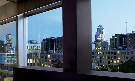 3M Night Vision en ventana de oficina