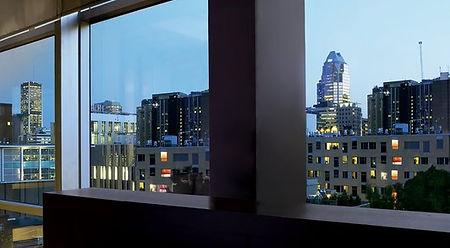 3M Night Vision en ventanas atardecer