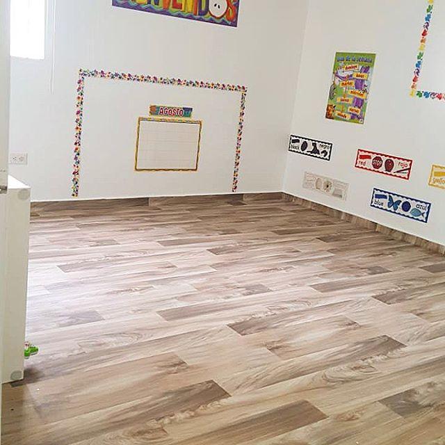 Instalación piso de vinilo en rollo Beau