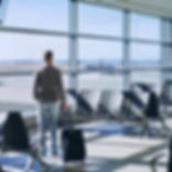 Laminado Performa Ceramic Ice en terminal de aeropuerto