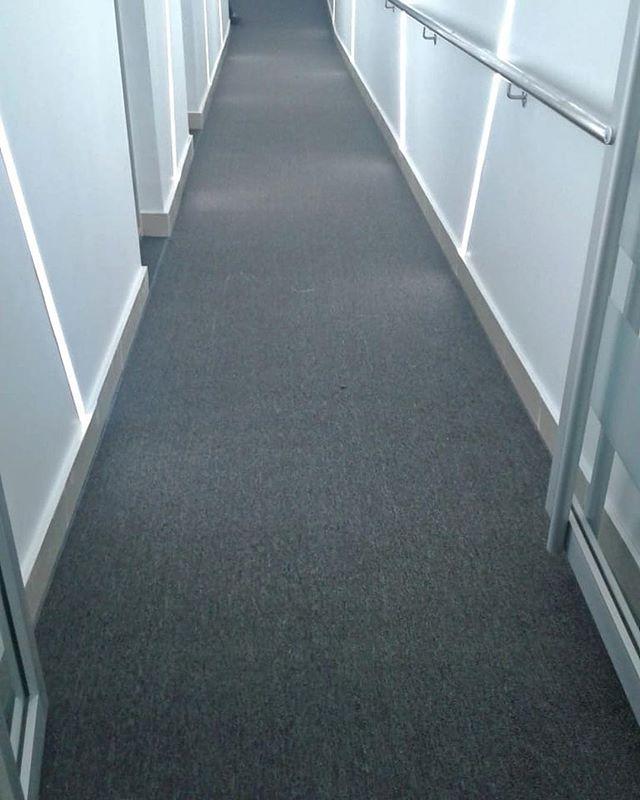Instalación de alfombra Shaw Contract 👍