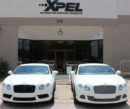 Bentley Continental protegidos con Xpel Ultimate