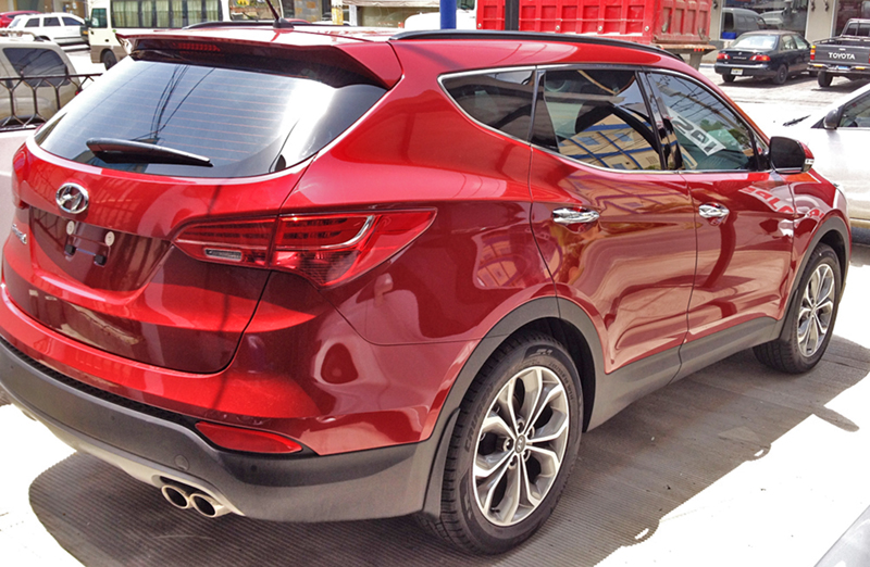 Laminado Performa Ceramic IR Plus en Hyundai Santa Fe