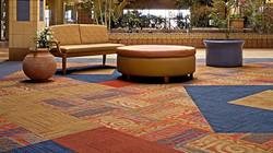 Alfombra Interface en centro comercial
