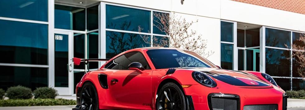 Porsche GT3RS protegido con Xpe Ultimate Plus