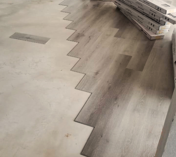 Piso de vinil Stonewood Urban Grey