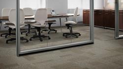Alfombras Interface en oficina