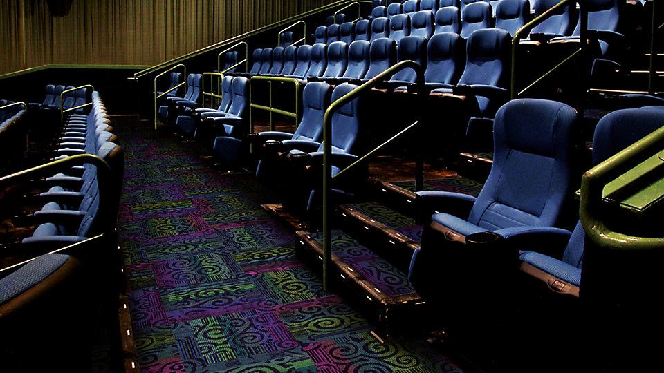 Alfombras Interface en cine