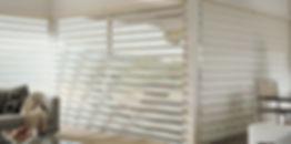 Capriccio shade sin living room