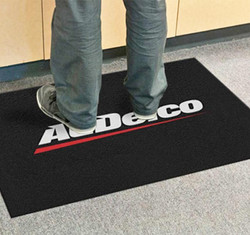 Alfombra con logo PrecisionJet 1000