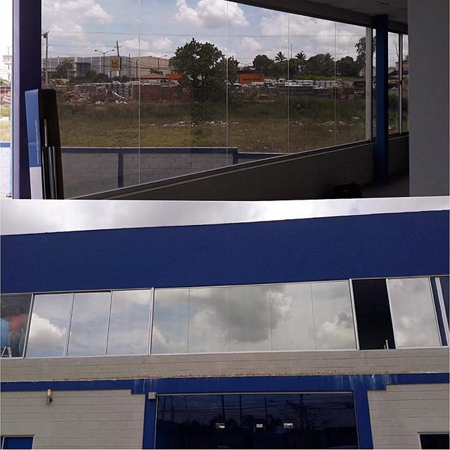 Laminado reflectivo en oficinas privadas Santo Domingo Oeste