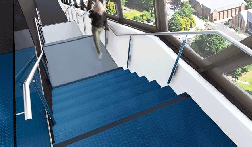 Stair treads para escaleras