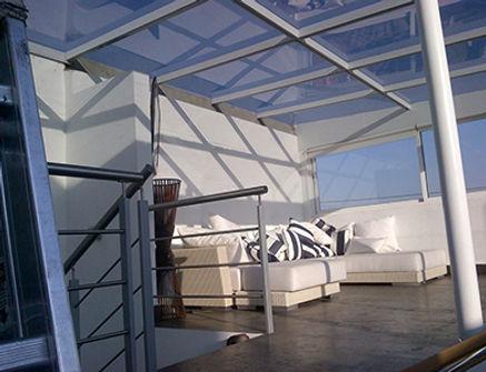 Laminado Huper Optik Select en terraza