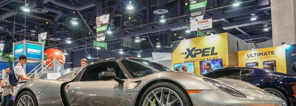 Porsche 918 Spyder con Xpel Ultimate Plus