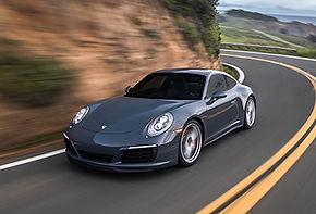 Porsche Carrera con Autobahn Black