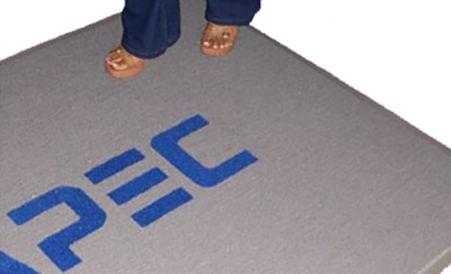 Alfombras con logo Supermat