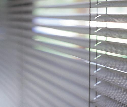Miniblind de aluminio liso