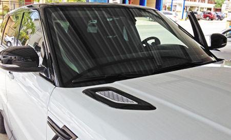Tintado 3M Crystalline en Range Rover Sport