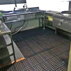 Alfombra Supermat K36 en cocina industrial
