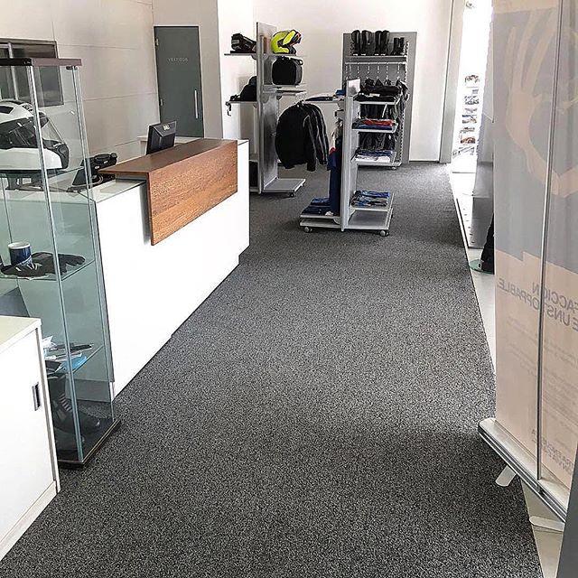 Instalación alfombra comercial en rollo