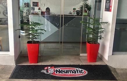 Alfombra personalizada Supermat 500 con logo