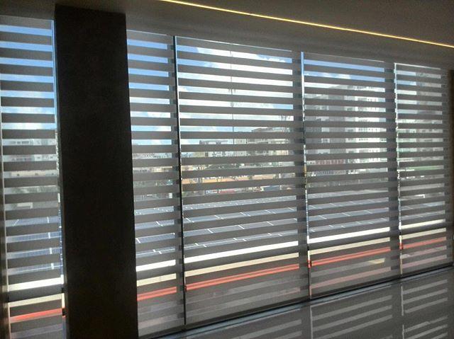 Neolux zebra blinds installation