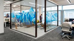 Alfombra Interface en oficina y sala de reuniones