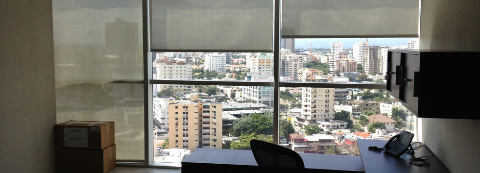 Laminado para el calor 3M Prestige en oficinas Novocentro