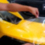 Laminado Xpel en pintura de Lamborghini