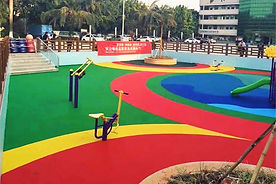 Piso para playground Rubberflex XTR